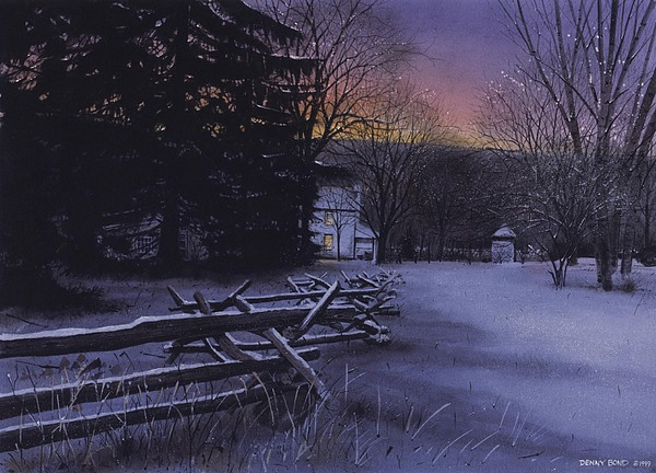 Landscape Painting - Secluded by Denny Bond