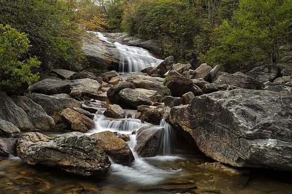 Waterfall Photograph - Second Falls - Blue Ridge Falls by Andrew Soundarajan