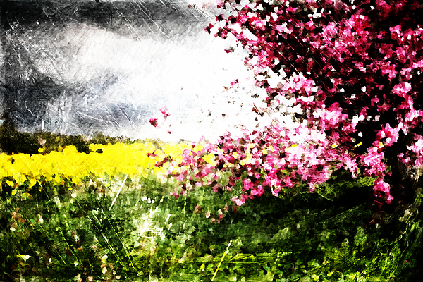 Secret Digital Art - Secret Garden by Andrea Barbieri