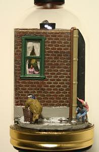 Secret Santa Sculpture by Peter Luber