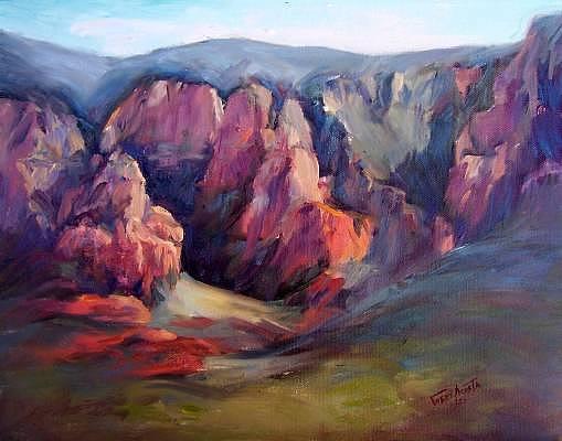 Sedona Vista Painting by Geri Acosta