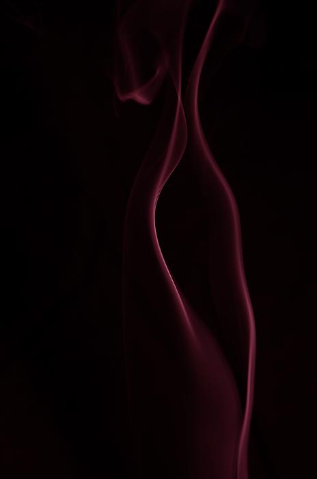 Smoke Photograph - Seductress by Mark Denham