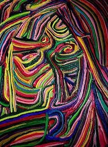 Self Portrait 07 Painting by Ira Stark
