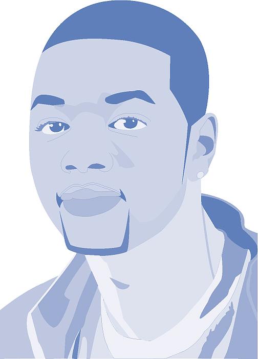 Self Portrait Digital Art by Derrickio Richards