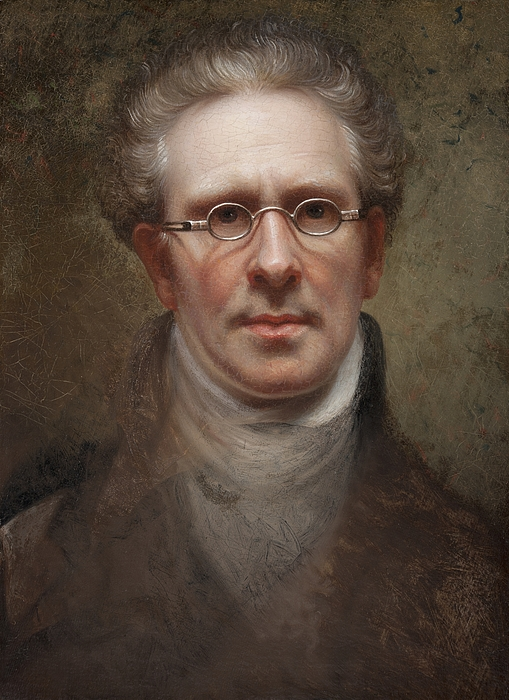 Self Painting - Self Portrait by Rembrandt Peale