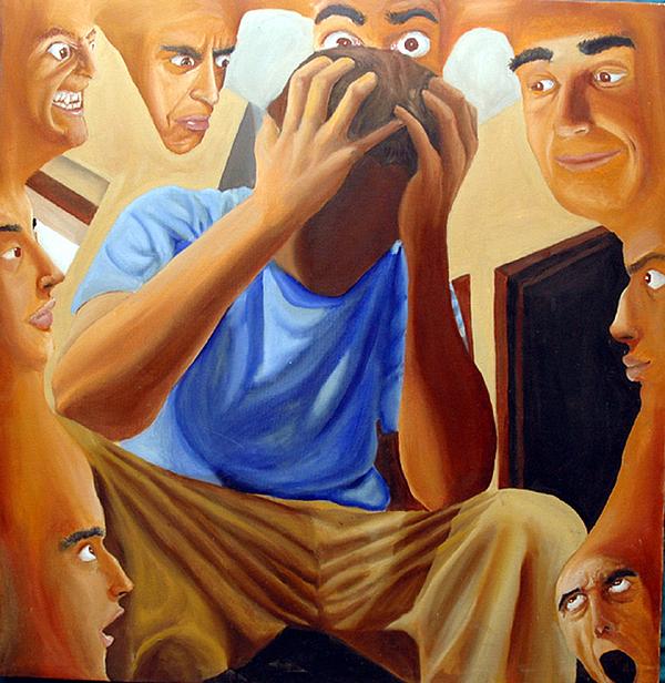 Portrait Painting - Self-portrait  by Robert  Nugent