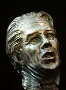 Self Portrait The Scream Sculpture by Tom Durham