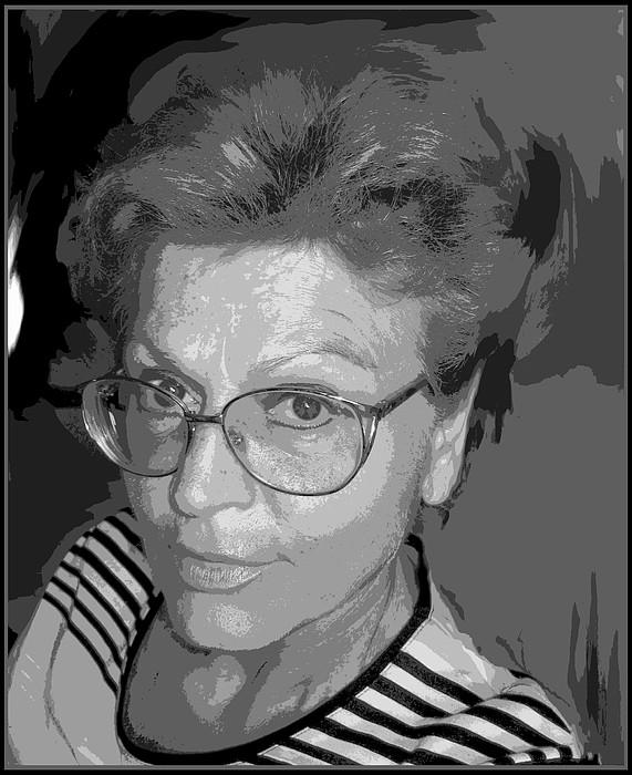 Self Portrait Photograph - selfportrait III by Dragica  Micki Fortuna