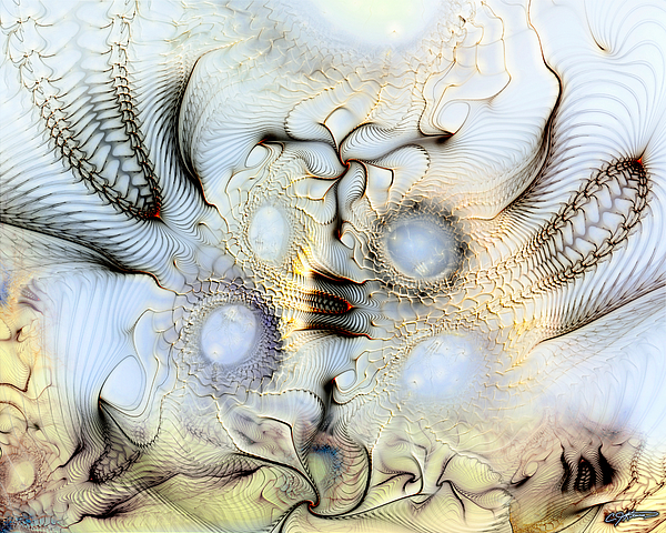 Abstract Digital Art - Sensorial Paroxysm by Casey Kotas