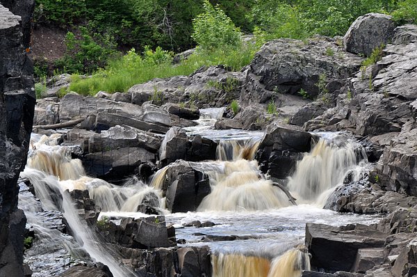 Waterfall Photograph - Serenity At Jay Cooke by John Ricker