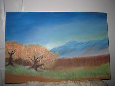 Peace In The Valley Painting - Serenity by Renee Garrett