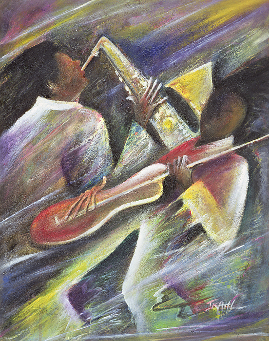 African-american; African Painting - Session by Ikahl Beckford