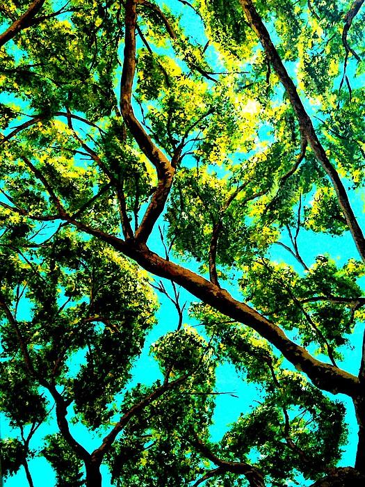 Landscape Painting - Shade by Douglas Kriezel