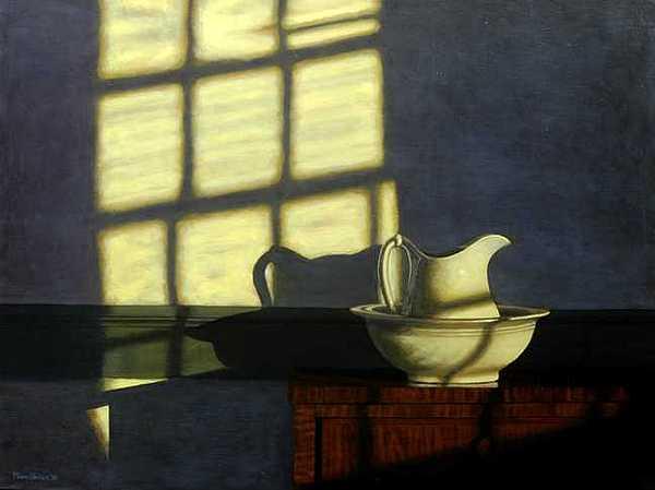 Shaker Interior No.2 Painting by Murad Sayen
