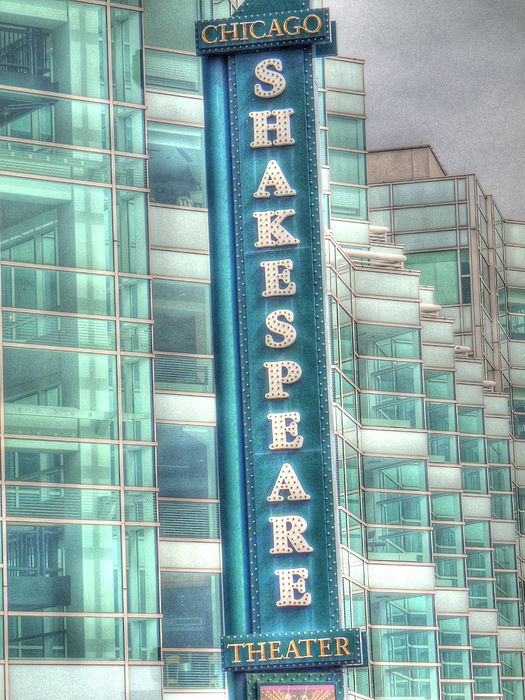 House Of Blues Digital Art - Shakespeare Theater by Barry R Jones Jr