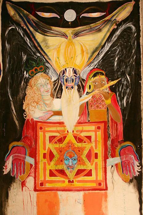 Shambala Painting - Shambala Overlord by Brian c Baker