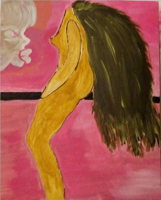 Shame Painting by Sveta Sveta