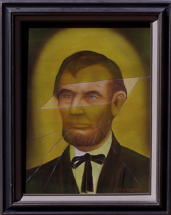 Lincoln Painting - Shattered by Gene Gregory