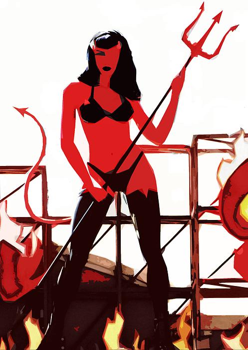 She-devil Photograph by Jason Williams