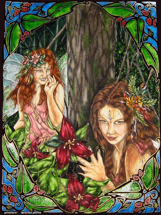 Fairy Painting - She Is Driving Me Crazy by Monique  Cooper