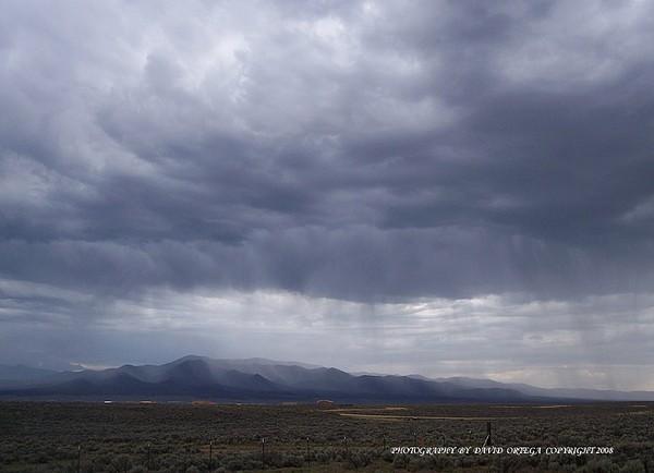 Landscape Photograph - Shear Rainfall by David Ortega