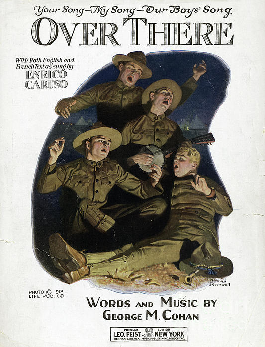 1917 Photograph - Sheet Music Cover, 1918 by Granger