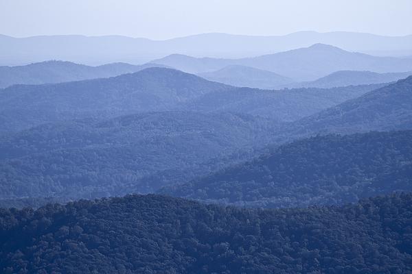 Shenandoah Photograph - Shenandoah Mountains by Pierre Leclerc Photography