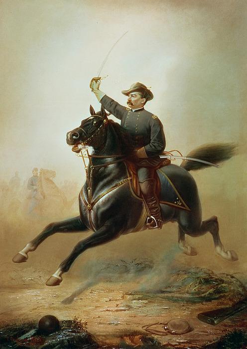 Sheridan Painting - Sheridans Ride by Thomas Buchanan Read