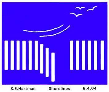 Shorelines.jpg Digital Art by Sue Hartman