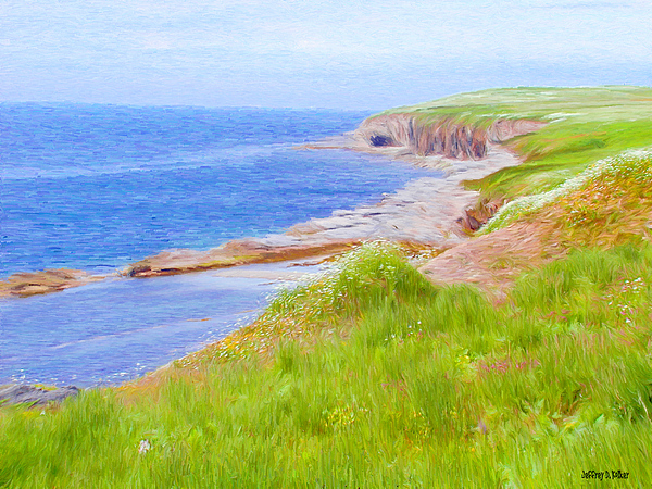 Canadian Painting - Shores Of Newfoundland by Jeff Kolker