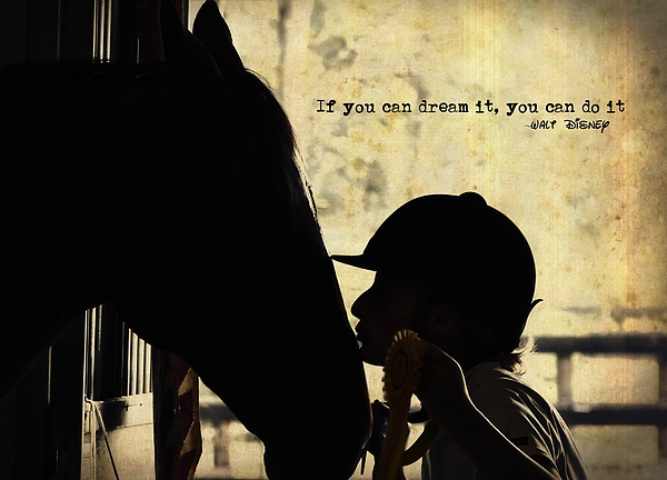 Horse Photograph - Show Success Quote by JAMART Photography