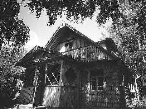 Dacha Photograph - Siberian Dacha by Susan Chandler