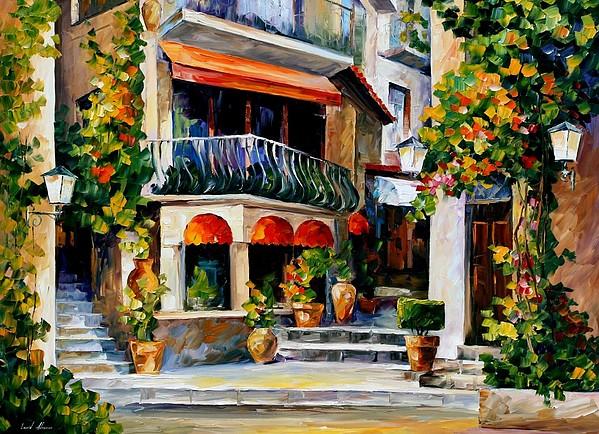 Afremov Painting - Sicily - Spring Morning by Leonid Afremov