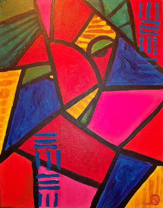 Fish Painting - Sifuri by Malik Seneferu