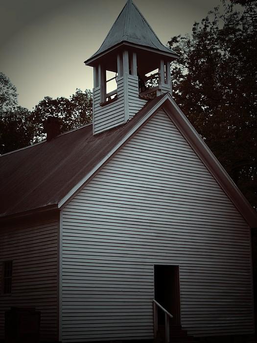 Church Photograph - Silent Faith by Jessica Burgett