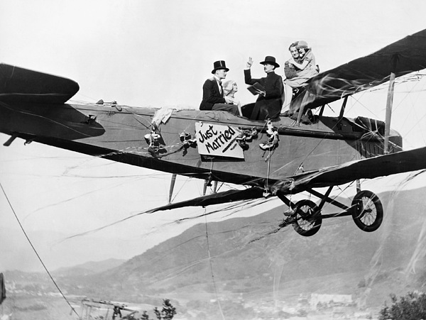 Stunt Photograph - Silent Film Still: Stunts by Granger