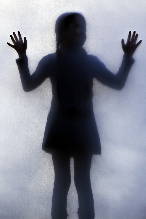 Silhouette Photograph - Silhouette Of A Girl by Joana Kruse