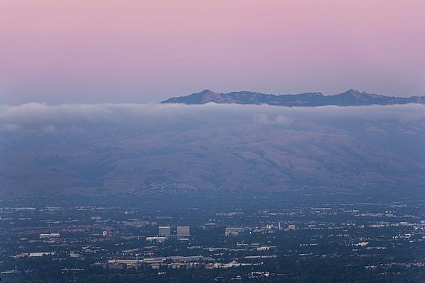 California Photograph - Silicon Valley At Dusk by Matt Tilghman