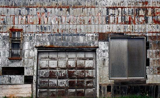 Urban Industrial Photograph - Silver by Alastair  MacKay