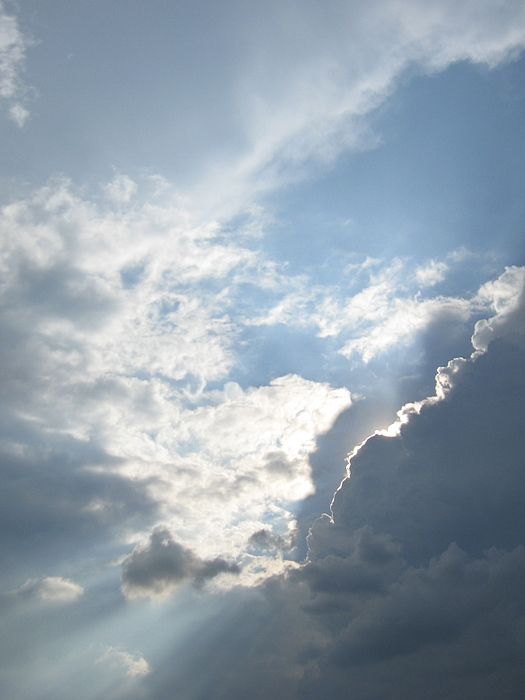 Clouds Photograph - Silver Lining by Shelia Howe