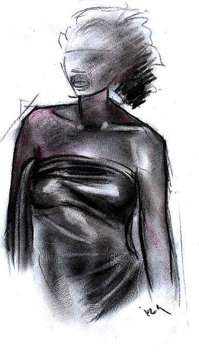 Simplicity Of Beauty Drawing by Okwir Isaac
