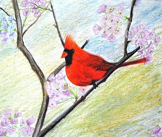 Birds Painting - Sing A Song by Mitali Mahapatra