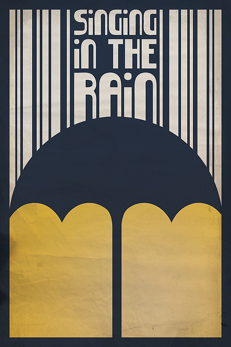 Gene Kelly Digital Art - Singin In The Rain by Megan Romo