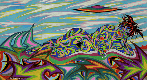 Venus Painting - Sirene De Venus by Robert SORENSEN