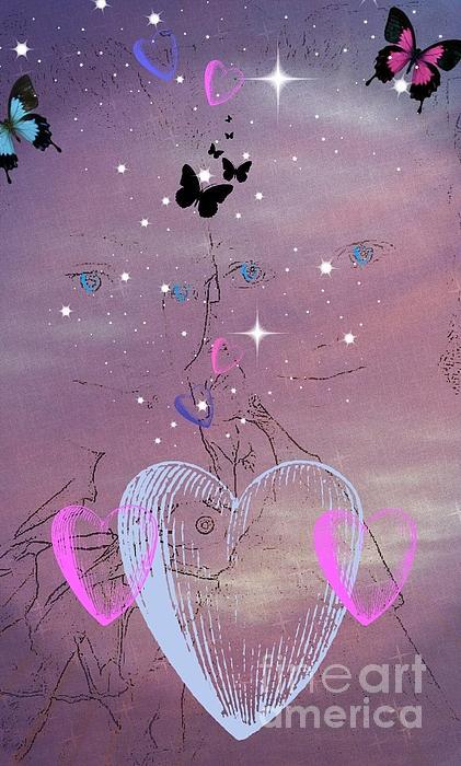 Sisterly Love Digital Art - Sisterly Love by Diamante Lavendar