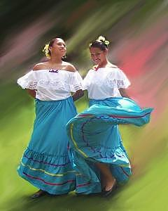 Mexican Photograph - Sisters by Patti  Jo