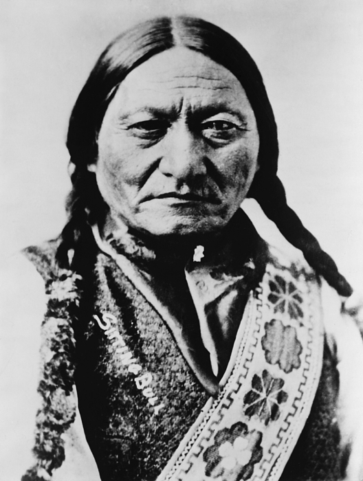 sitting bull 1831 1890 lakota sioux photograph by everett. Black Bedroom Furniture Sets. Home Design Ideas