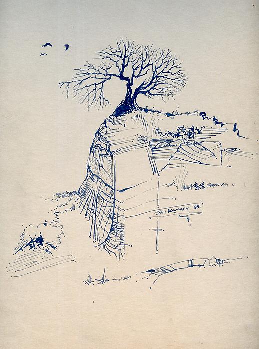 Sketch 7 Drawing by Joan Kamaru