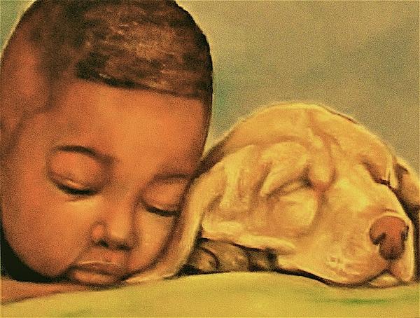 Babies Pastel - Sleeping Beauties by Curtis James