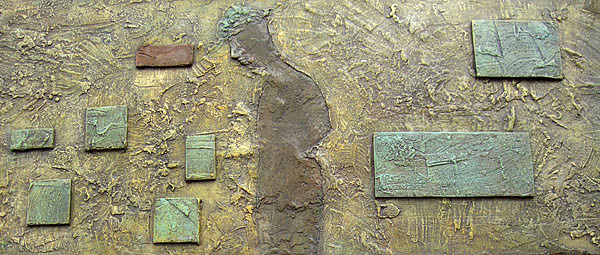 Figurative Relief - Slf Searching by Ronex Ahimbisibwe